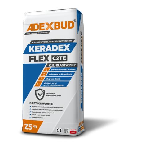 Еластичний клей для плитки KERADEX FLEX C2TE